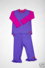 Children's Swim Suit Girl's Rash Vest & Pants Size 1-2