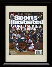 Framed Derek Jeter Sports Illustrated Autograph Replica Print New York Yankees