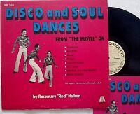 private funk DISCO AND SOUL DANCES 1976 lp Rosemary Hallum DEL KACHER booklet