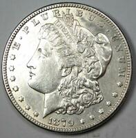 1879-S Reverse of 1878 Morgan Silver Dollar $1 - Choice AU / UNC Details
