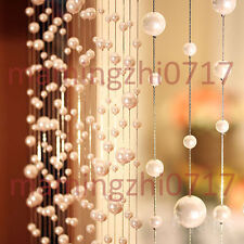 10m Pearl Acrylic bead curtain can be customized Acrylic curtain porch partition