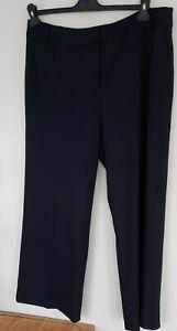 Fenn Wright Manson Ladies navy Hepburn Stretch  trousers BNWT UK 16 Wool Blend