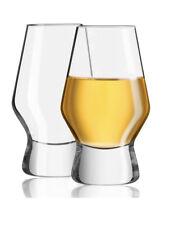 NIB! JoyJolt Halo Crystal Whiskey Glasses, Set of 2, 7.8 Ounces