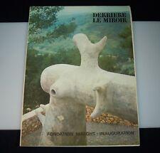 1965 Derriere Le Miroir, No. 155 Miro Ubac Chagall Giacometti Braque 53367