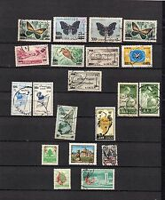 Liban -  POSTALLY  Used  Selection of used overprinted stamps   LOT ( LEB 453)