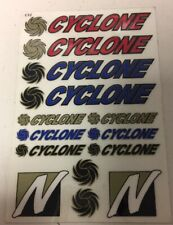 VINTAGE NOVAK CYCLONE ESC SPEED CONTROL DECAL SHEET RARE RC10 LOSI