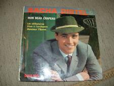 """SACHA DISTEL """" MON BEAU CHAPEAU + 3 """" E.P. FRANCE'59"""