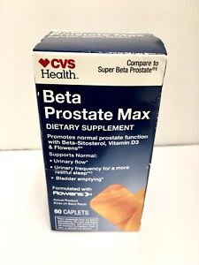 Cvs Health Beta Prostate Max 60 Tablets EXP 2/21