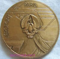 MED10853 - MEDAILLE INAUGURATION AEROGARE ORLY 1961 par DROPSY - FRENCH MEDAL