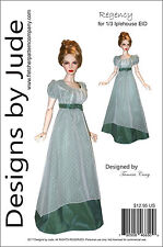 Regency Doll Clothes Sewing  Pattern for 1/3 Iplehouse EID Dolls