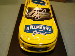 DALE EARNHARDT JR #8 2020 AUTOGRAPHED HELLMANNS 1/24 NEW IN STOCK FREE SHIP U.S.
