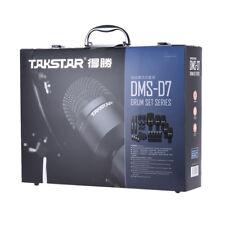SET MICROS PRO BATTERIE TAKSTAR DMS-D7 / DRUMSET MICROPHONE PRO DMS-D7 TAKSTAR