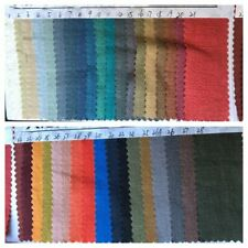 1473 Stone Washed 100% Ramie (Linen Like) Crepe Wrinkled Fabric per Meter