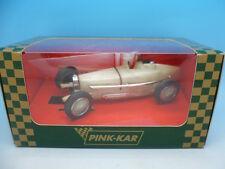 Pink Kar Pre Production Bugatti, clear white mint