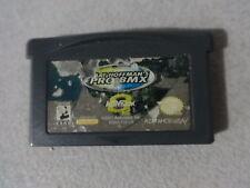 Mat Hoffman's Pro BMX Sticker Damage Nintendo Gameboy Advance Cart Free Ship