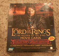 Lord of the Rings Return of the King Movie Cards Update Hobby Box, Autographs