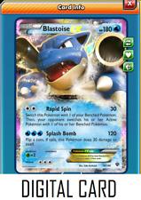 Pokemon TCG ONLINE Blastoise EX (DIGITAL CARD) Ultra Rare