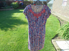 BODEN dress size 8 long EMBELLISHED PARTY SHIFT DRESS
