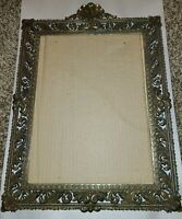 Vintage Beautiful Ornate Metal Frame Made In Italy