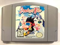 Snowboard Kids NINTENDO 64 N64 Game Tested + Working & Authentic!**