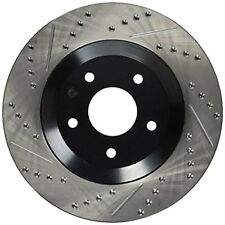 StopTech (127.62060R) 97-04 Chevy Corvette Slotted & Drilled Front Right Rotor