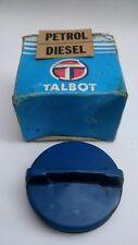 VINTAGE CAR PETROL / DIESEL CAP COVER BLUE NISSAN TALBOTl?