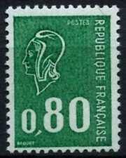 France 1971-6 SG#1905c, 80c Emerald Marianne Recess Definitive Phosphor #D64778