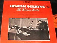 HENRYK SZERYNG The Virtuous Violin LP RARE VIOLIN STEREO
