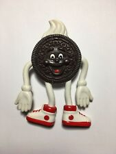 Nabisco Oreo Cookie Bendable Suction Cup Figure Vintage Food Fighters Equivelent