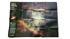 The Heavens National Geographic Map Poster 1995 Orion Nebula Star Chart