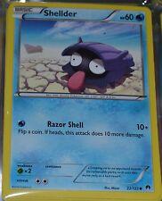 Shellder # 22/122 XY Breakpoint Set Pokemon Trading Cards Break Point MINT