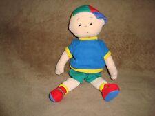 """Caillou Plush & Beans Doll 10"""" Tall 2001 Cinar"""