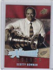 SCOTTY BOWMAN 2005-06 UPPER DECK SPXCITEMENT LEGENDS #28/99 #XL-SB DETROIT