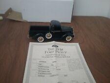 New ListingDanbury Mint 1938 Ford Pickup 1:24 Scale Diecast w/ Title & Box!