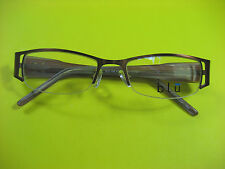 ZIMCO BLU 106 LADIES EYE GLASSES 50-17-135 MM A. BROWN COLOR