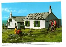 Cornwall - Lands End, The First & Last House in England - Vintage Postcard