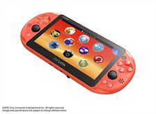 SONY PS Vita PCH-2000 ZA24 Neon Orange Console Wi-Fi model Japan Import F/S NEW