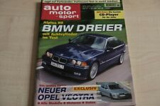 2) Auto Motor und Sport 10/1995 - Chrysler Jeep Cheroke - Land Rover Discovery
