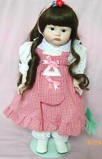 1983*Vintage Collectible Ltd Bisque doll Cathy
