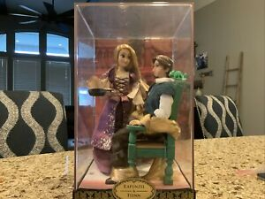 Disney Store Rapunzel And Flynn Fairytale Series Limited Edition Doll.