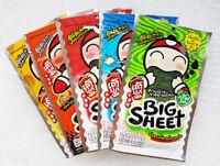 5 Mix TAO KAE NOI Crispy Fried Japanese Seasoned Seaweed Snack Big Sheet