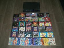 Untested Magnavox Philips CDi w/ 34 Games! Tetris Alien Gate Dimos Quest! CD i