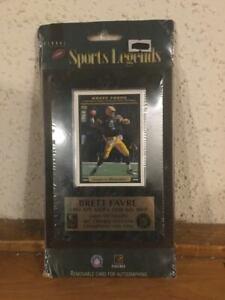 Sports Legends Brett Favre 1995 NFL MVP-1996 NFL MVP Plaque