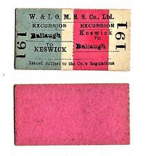 More details for mnr imr ckpr lnwr workington & iomss co to keswick, mona ssco rail + sea tickets