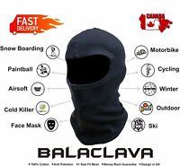 Balaclava Face Mask Motorcycle Motorbike Under Helmet Ski Neck Warmer Face mask
