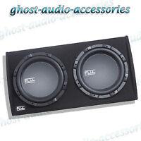 "FLI FU12AT 12"" Twin Active Sub Subwoofer Enclosure Boom Speaker Amp Amplifier"