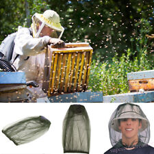 Anti-bite Veil Cap Fly Insect Bee Mask Face Protect Hat Net Smock Camouflage