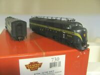 HO BLI 730 PRR BRUNSWICK E7 BOTH POWERED AB DCC SOUND DIESEL Locomotive