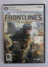 GAMES JUEGO PARA VENTANA PC DVD FRONTLINES FUEL DE LA GUERRA THQ UTILIZA COMO 16