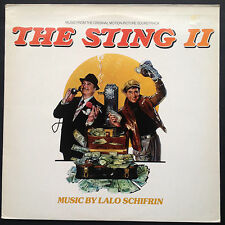 Lalo Schifrin THE STING II soundtrack LP 82 Jackie Gleason Teri Garr Oliver Reed